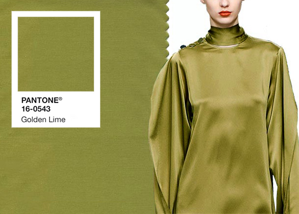 Pantone Golden Lime