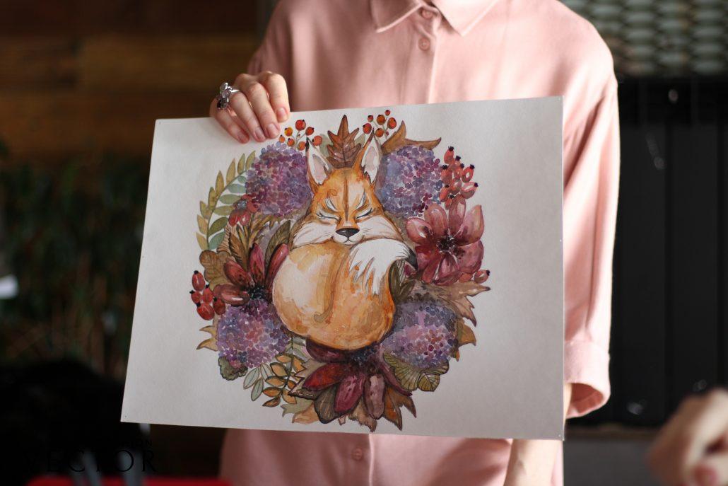 Уроки фэшн-иллюстрации Годованчук