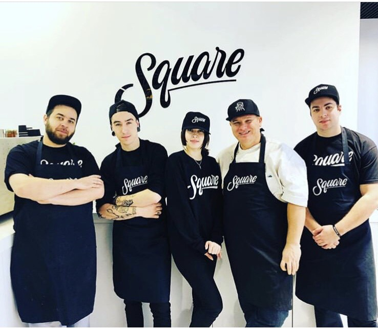 Команда пиццерии Сквер