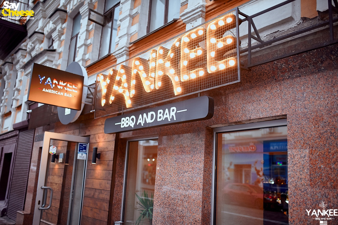 Yankee BBQ AND BAR — Saycheese