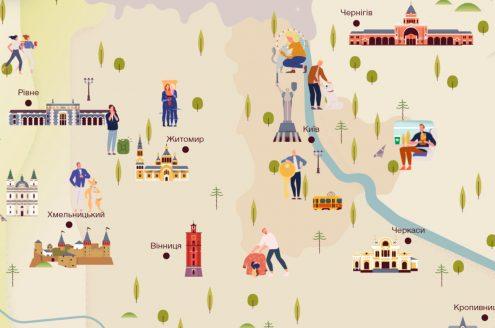 Карта добрых историй