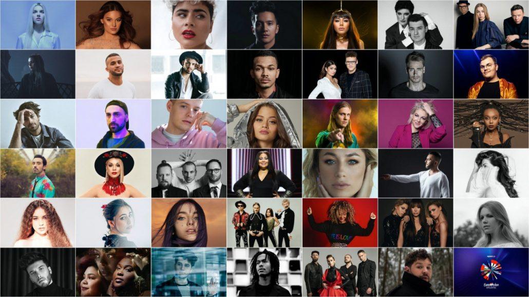 Участники Евровидения 2020