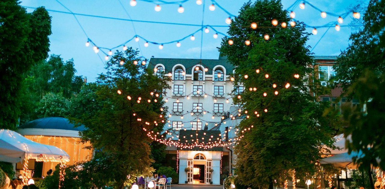 рестораны с летними площадками в Харькове