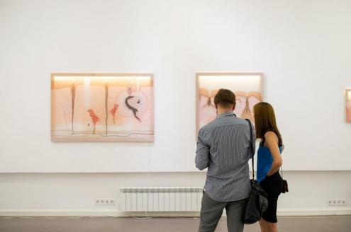 Выставка Nude Василины Буряник