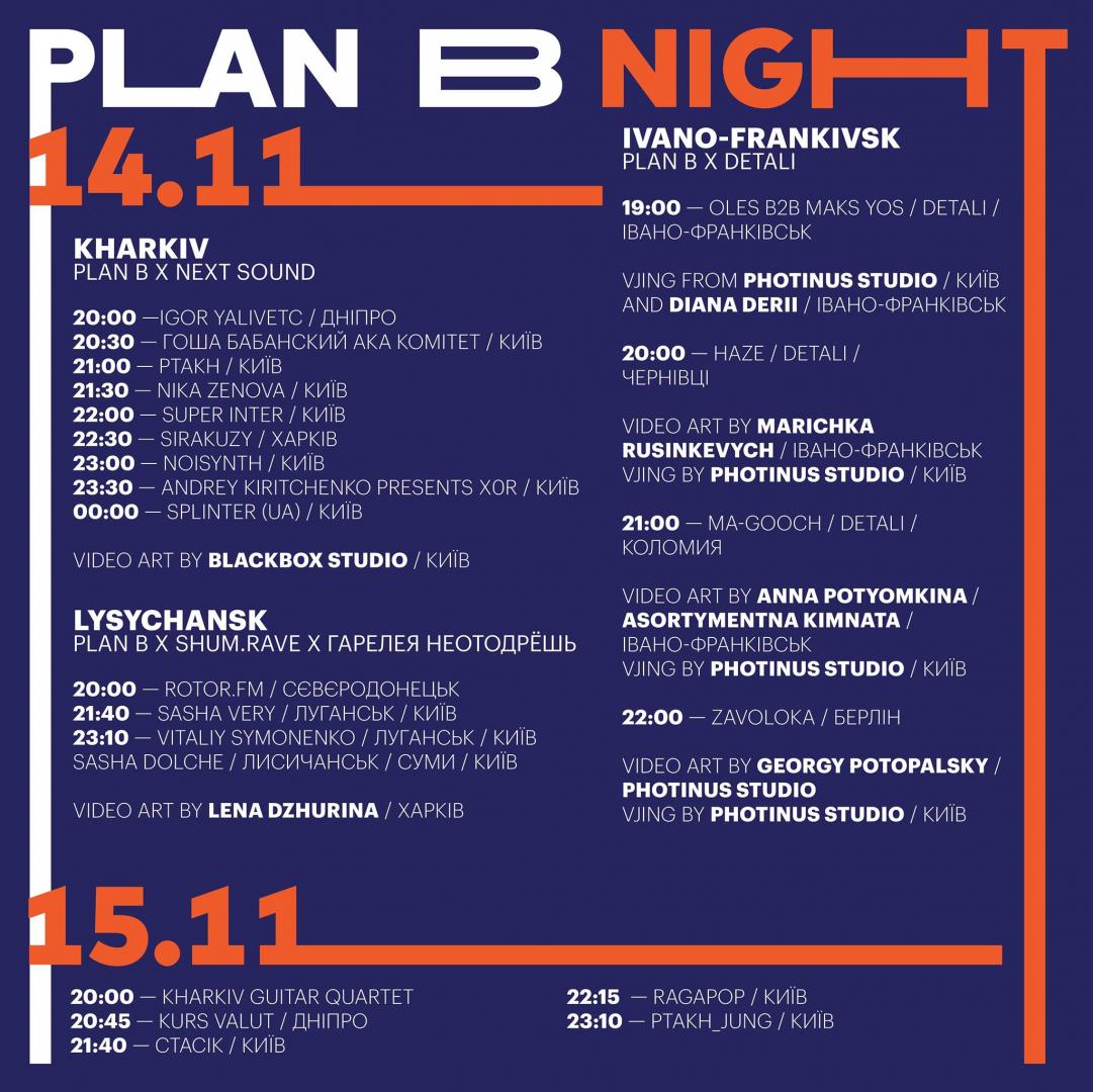Plan B Night