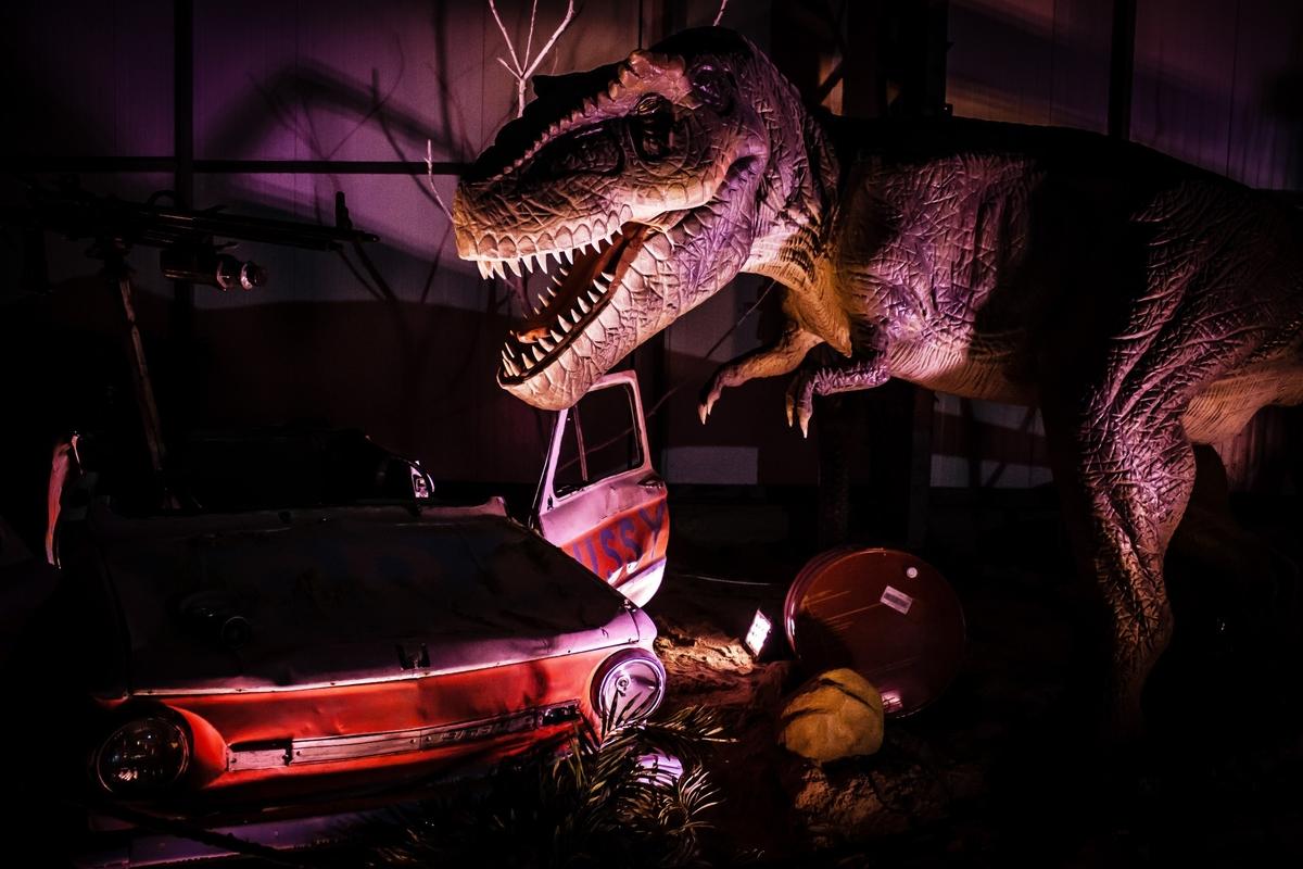 Выставка динозавров Харьков