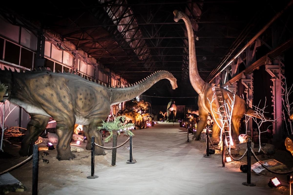 Выставка планета динозавров в Харькове