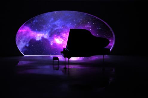 PIANO SPACE в Харьковском планетарии