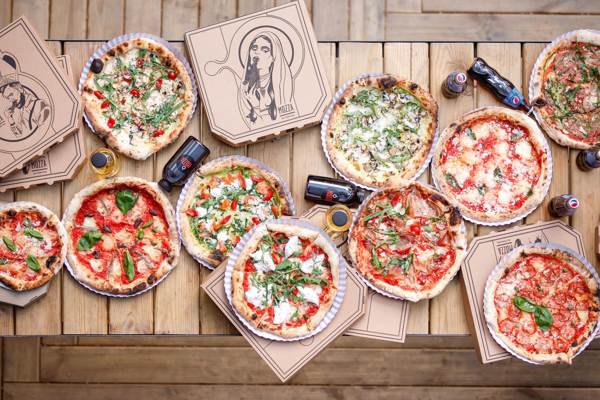 Доставка Mozza Pizza Харьков