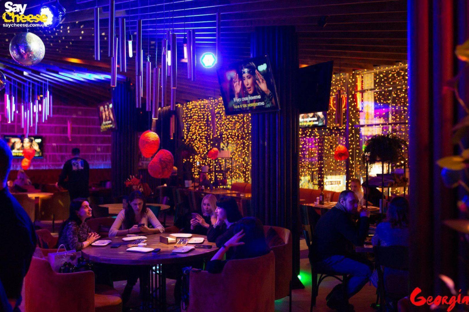 Ресторан Джорджия Харьков фотоотчет Saycheese 12.02
