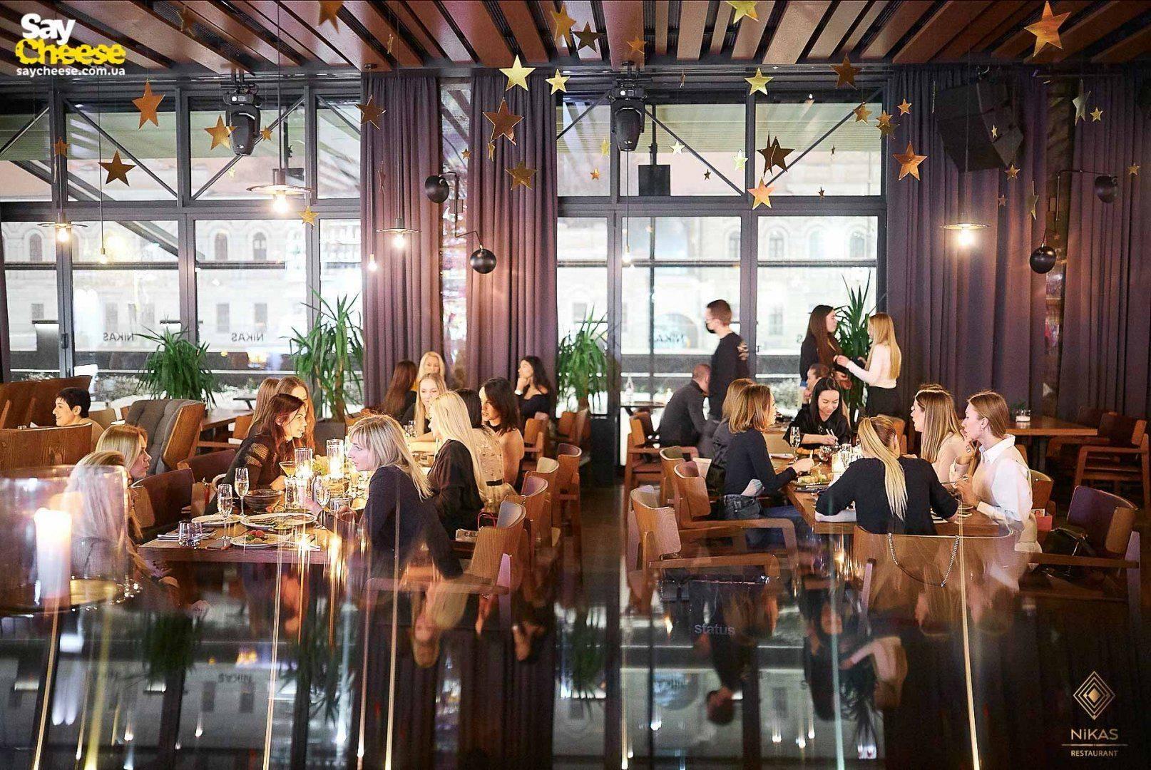 Ресторан Никас Харьков фотоотчет Saycheese 29.01