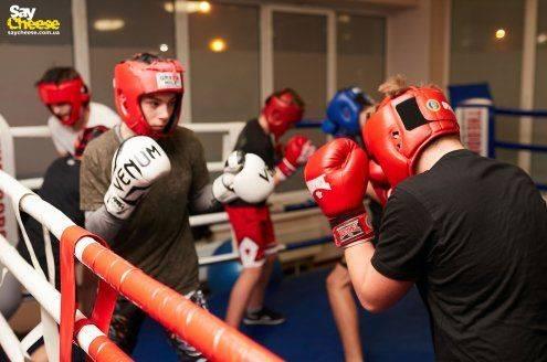 Theodor Boxing Club Харьков фотоотчет Saycheese