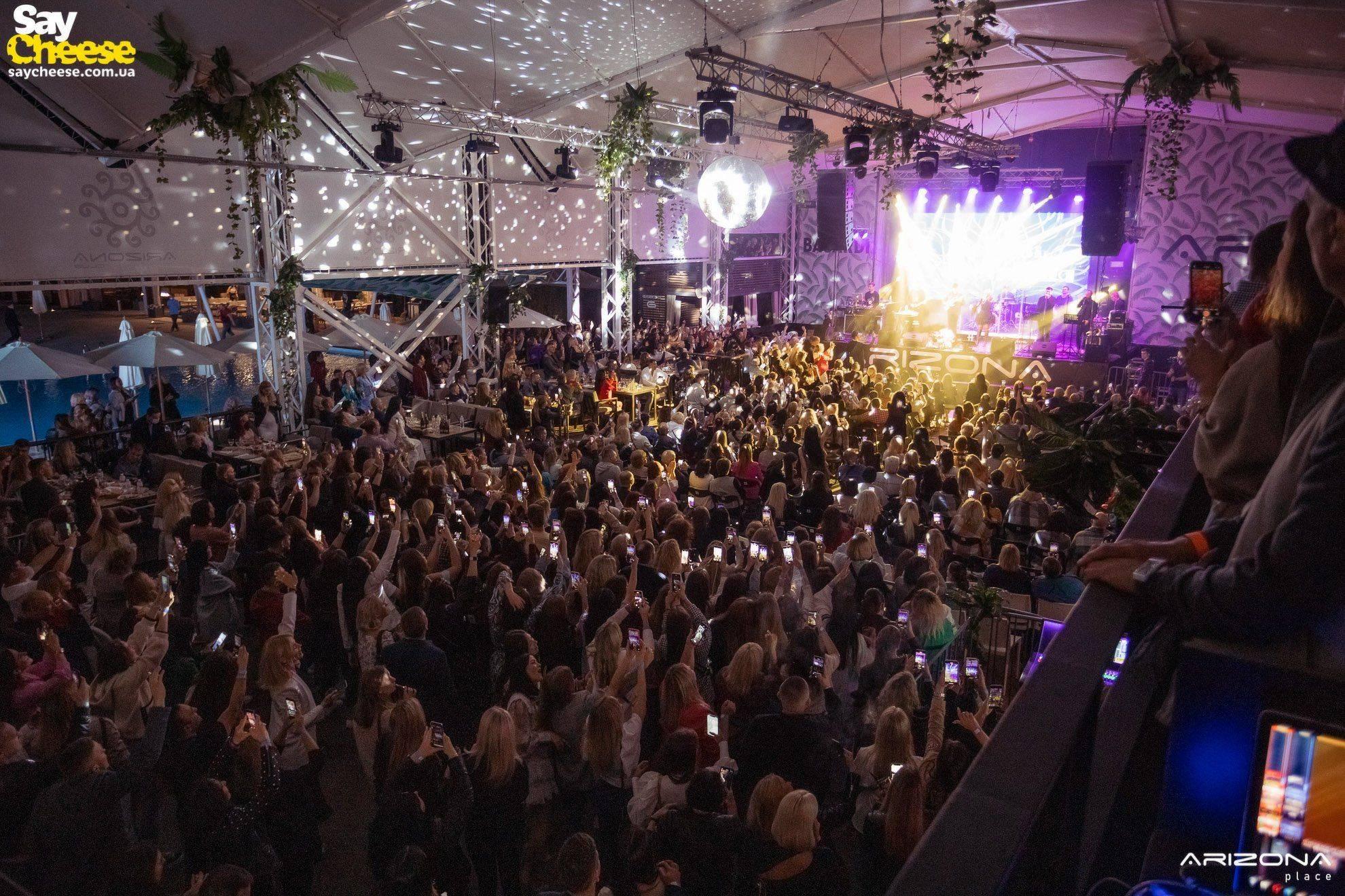 12-06 Arizona Place — Концерт Любови Успенской фотоотчет Saycheese