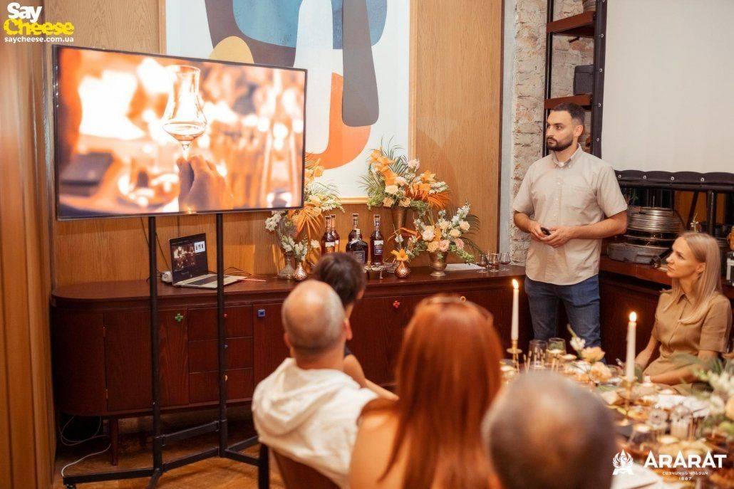15-07 Kinoshniki — дегустация ARARAT Харьков фот