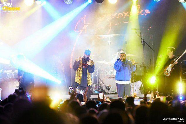 Arizona Place — Концерт HAMMALI & NAVAl Харьков фотоотчет Saycheese
